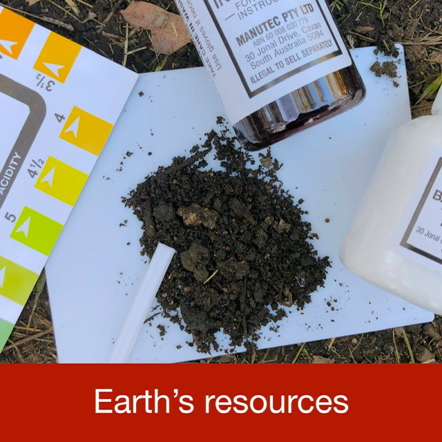 Earths resources link